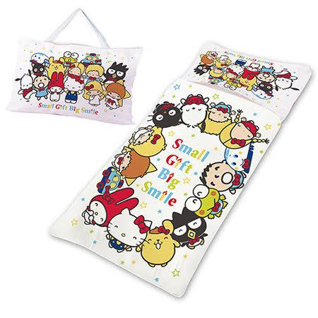 【享夢城堡】三麗鷗 50周年紀念版系列-鋪棉兩用兒童睡袋