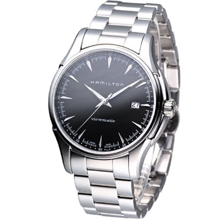 HAMILTON JazzMaster 典藏爵士 機械錶 H32665131 黑色
