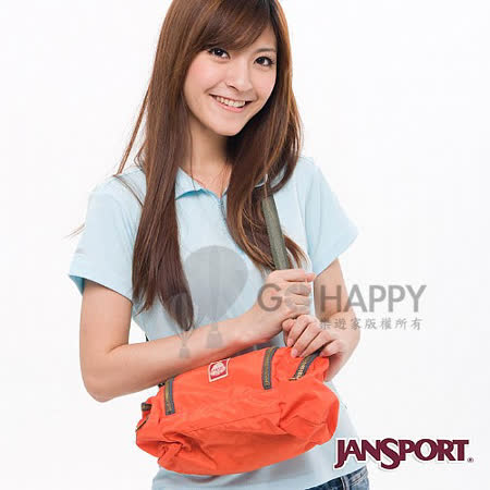 Jansport 5L復刻板紀念側背包(橘色)