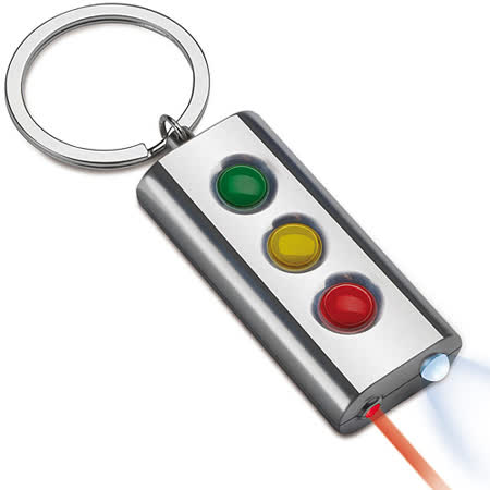 《REFLECTS》3 in 1 紅綠燈雷射筆鑰匙圈
