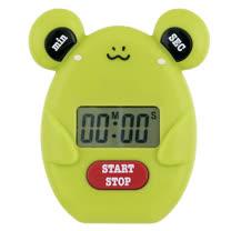 可愛動物造型 計時器--青蛙( 201701-005FG)