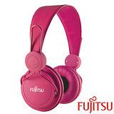 富士通 MA-11 智慧型手機用耳罩式耳機麥克風【粉紅色】
