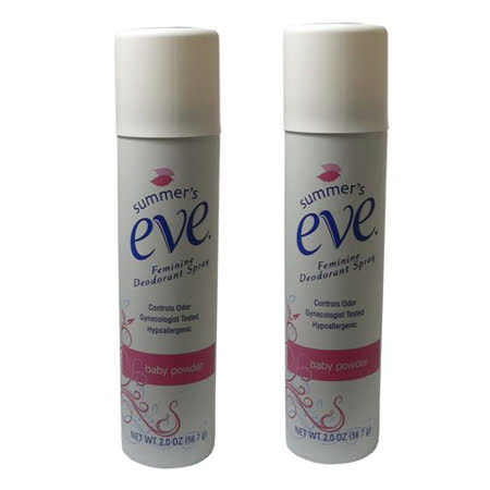 (超值二入)進口Summer's eve私密噴劑-嬰兒粉香(2oz)