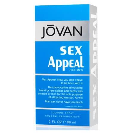 JOVAN Sex Appeal for Men 藍色性感男香(88ml)