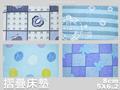 杜邦高壓透氣棉三折.硬式床墊.標準雙人.全程臺灣製造