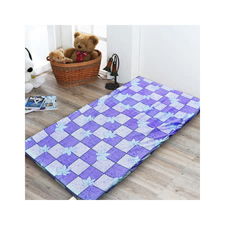【名流寢飾】MIT杜邦高壓透氣棉三折硬式床墊-標準雙人