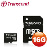 創見 16GB microSDHC Class10 記憶卡