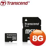 創見 8GB microSDHC Class10 記憶卡