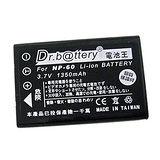 電池王 HP R817xi / R818 / R827 高容量鋰電池