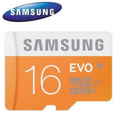 Samsung 三星 16GB EVO microSDHC TF UHS-I C10 高速卡