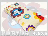 Snoopy史努比.經典回顧.兩用鋪棉兒童睡袋.全程臺灣製造
