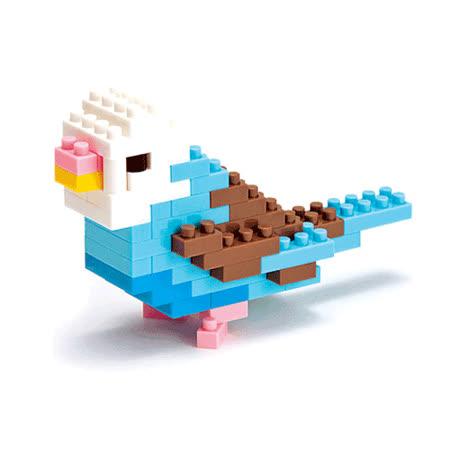 (任選)《Nano Block迷你積木》【可愛動物系列】NBC-016  長尾鸚鵡
