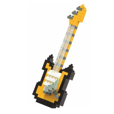 《Nano Block迷你積木》【可愛動物系列】NBC-023 電吉他