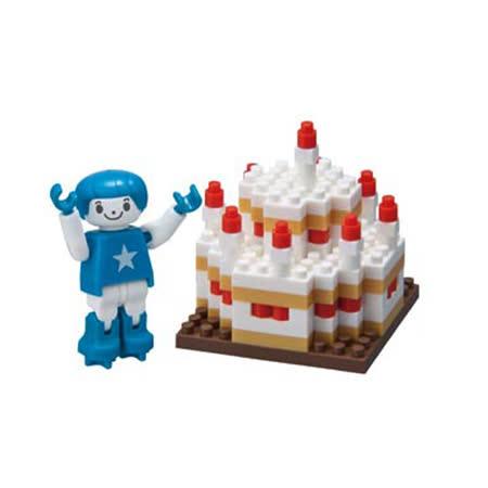 《Nano Block迷你積木》ML-024 生日蛋糕(男孩)
