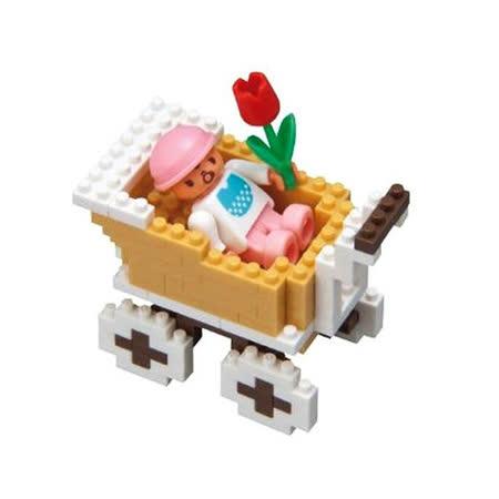 《Nano Block迷你積木》ML-026 娃娃車