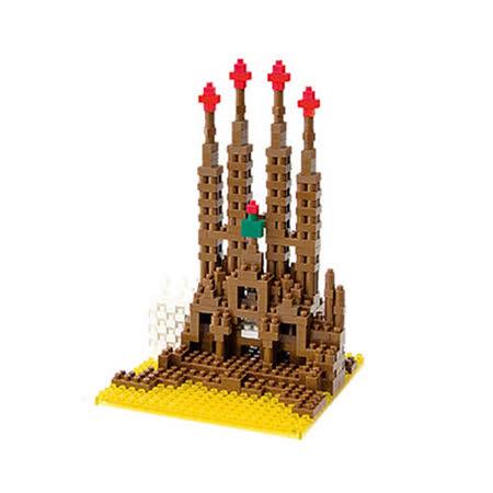 (任選)《Nano Block迷你積木》NBH-005 未完的聖堂