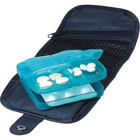 《GO TRAVEL》Medi Store 藥品收納盒(綠)