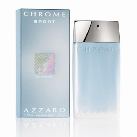 AZZARO 2010 Chrome Sport 海洋鉻元素運動香水禮盒(100ml)