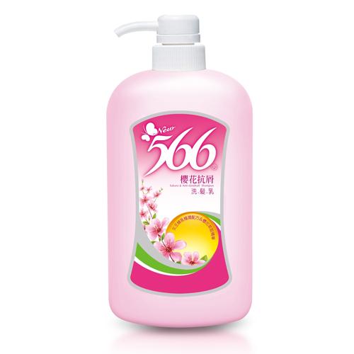 耐斯566櫻花抗屑洗髮乳800g