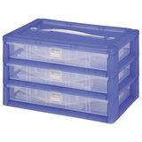 【DOLEDO】手提分類收納整理盒-三層