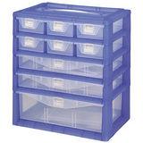 【DOLEDO】手提分類收納整理盒- 二+二+一層