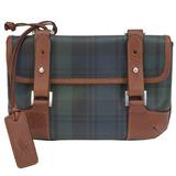 【Polo Ralph Lauren】經典蘇格蘭綠格馬鞍腰包斜背兩用包