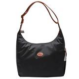 Longchamp 09 新春入荷 豔彩繽紛斜背包 黑色