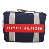 TOMMY HILFIGER 學生必備實用款(大)書包-藍