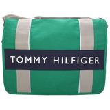 TOMMY HILFIGER 學生必備實用款(大)書包-綠