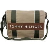 TOMMY HILFIGER 學生必備實用款(大)書包-駝