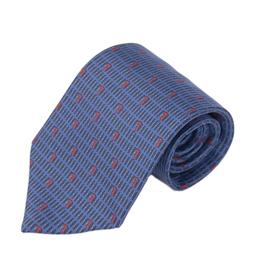 TRUSSARDI 細緻LOGO時尚領帶