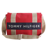 TOMMY HILFIGER 學生必備實用款(大)書包-紅