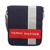 TOMMY HILFIGER 實用款小斜背書包-深藍色