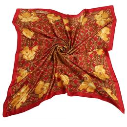 【部落客推薦】gohappy 線上快樂購Christian Dior 滿版竹編與花朵(大)領巾-紅色好嗎sogo 官網