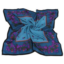 【網購】gohappy線上購物Christian Dior 優雅紫藤花混毛(大)領巾-藍哪裡買桃園 大 遠 百