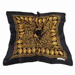 【私心大推】gohappy快樂購Christian Dior 多重鎖鏈圖樣(大)領巾-黑色評價好嗎美麗 華 購物 中心