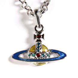 【勸敗】gohappyVivienne Westwood 璀璨彩色ORB土星環(短式)項鍊效果如何宜蘭 新 月 廣場