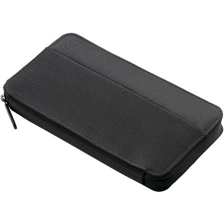《GO TRAVEL》旅用護照皮夾(黑)