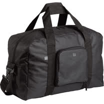 《GO TRAVEL》Foldaway L 好摺疊兩用旅行袋(黑)