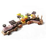 【ω-o2d】木製甜點餅乾小火車