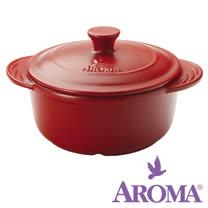 美國AROMA DoveWare 頂級手工荷蘭鍋 ADC-103 2.5qt 紅 一只