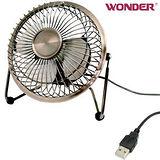 WONDER旺德 4吋USB風扇 WD-8514FU