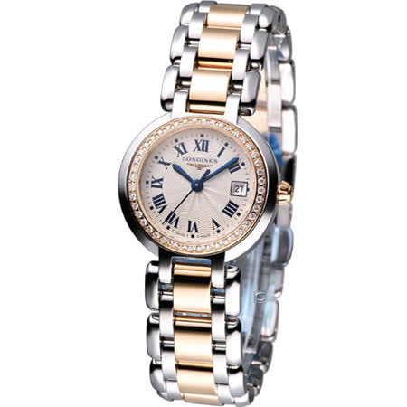 浪琴錶 LONGINES PrimaLuna 新月系列 石英鑽錶L81105796