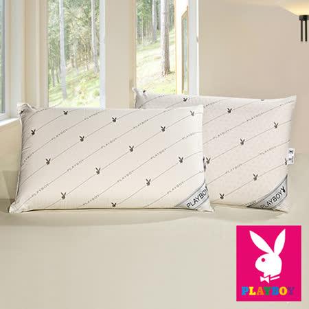 【PLAYBOY】100%天然乳膠標準平枕-1入