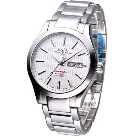 【私心大推】gohappy 線上快樂購BALL Engineer 天文台認證機械腕錶(NM2026C-SCJ-WH)白色價格愛 買 開 到 幾 點