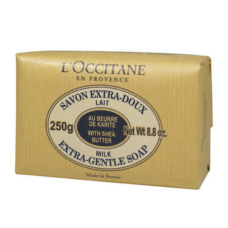 L'OCCITANE歐舒丹 乳油木牛奶植物皂(250g) 專櫃正品