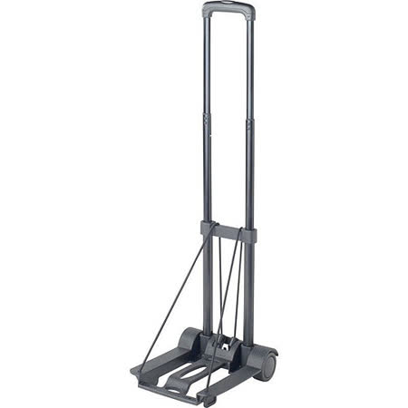《GO TRAVEL》Kart摺疊行李拖車(黑35kg)