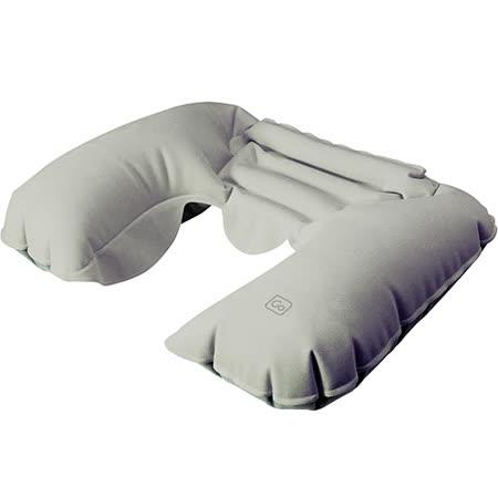 《GO TRAVEL》Snoozer 護頸充氣枕(灰)