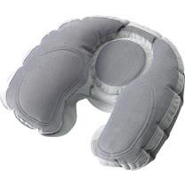 《GO TRAVEL》Comfort 反發記憶護頸充氣枕(深灰)