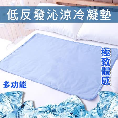 日本熱銷低反發沁涼冷凝墊.多功能萬用型清涼墊 60X90公分